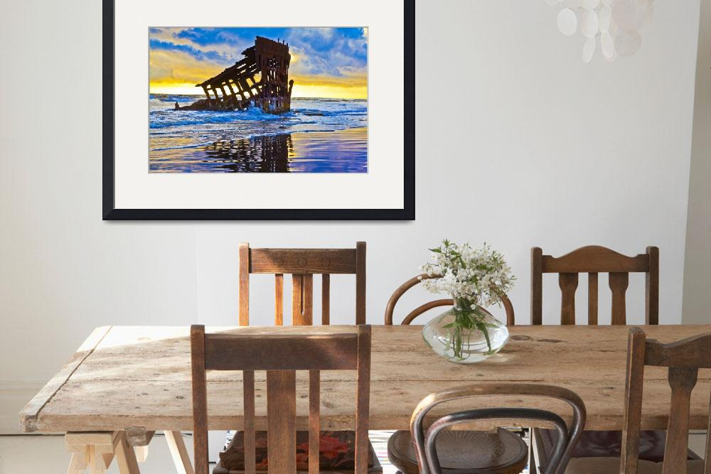 """""""Peter Iredale Wreck""""  (2014) by aknelsonco"""