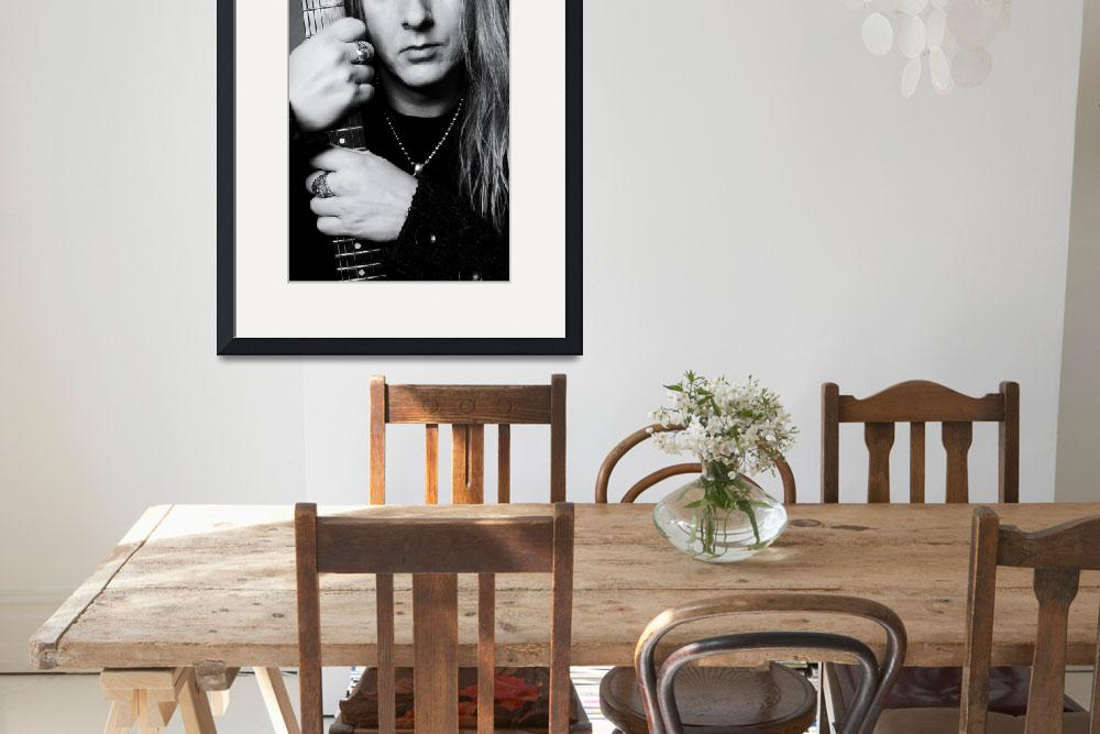 """""""Jerry Cantrell of Alice In Chains&quot  by GabrielleGeiselman"""