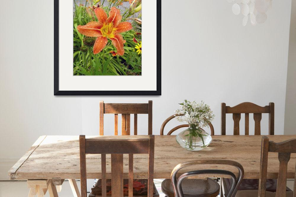 """""""Lily in Flower&quot  (2006) by garlanddunston"""