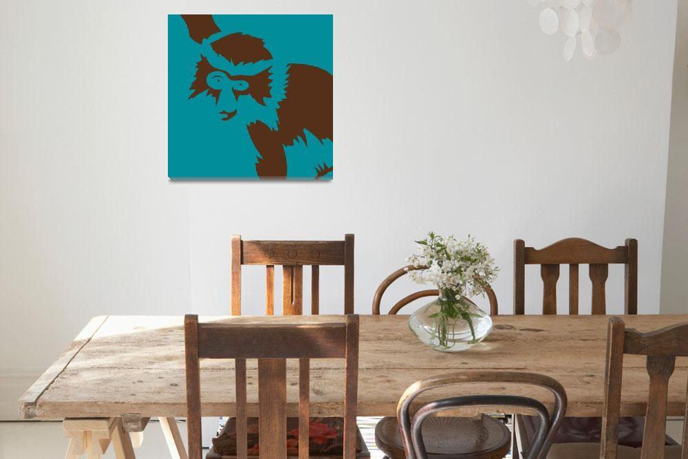 """Monkey Portrait""  (2009) by KevArchie"