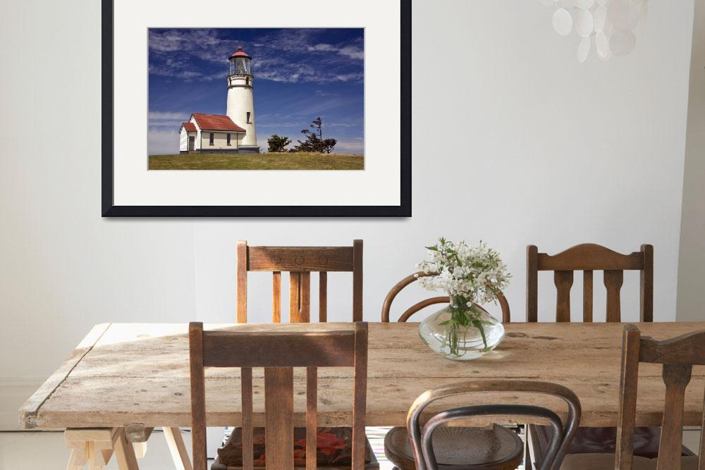 """Cape Blanco Lighthouse (Landscape)&quot  by pbk"