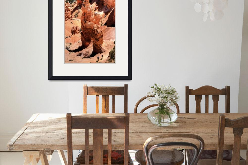 """""""Bryce Canyon digital painting 004&quot  by Cynthia_Duerr"""