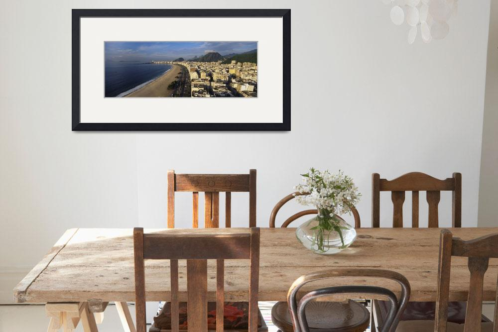 """""""High angle view of the beach&quot  by Panoramic_Images"""