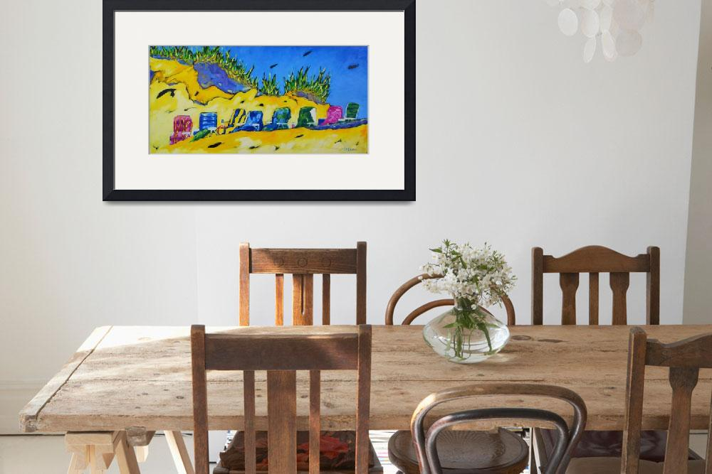 """""""Party at the Beach""""  by dreesefineart"""