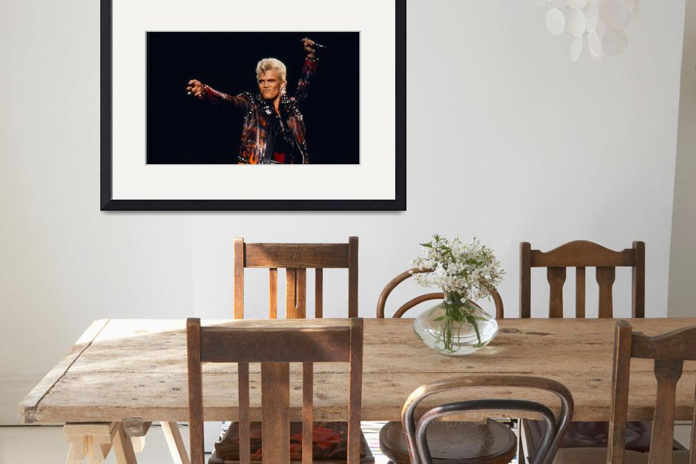 """""""Billy Idol&quot  by classicrockphotos"""