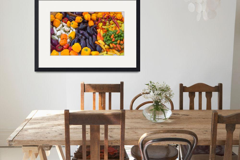 """""""Vegetables at the farmers market&quot  by eyalna"""