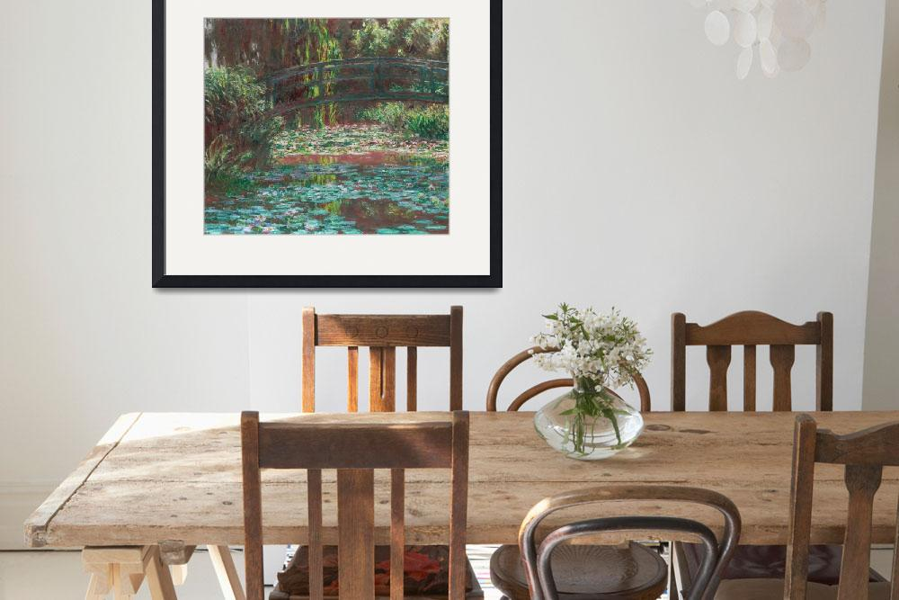 """""""Water Lily Pond by Claude Monet&quot  by FineArtClassics"""