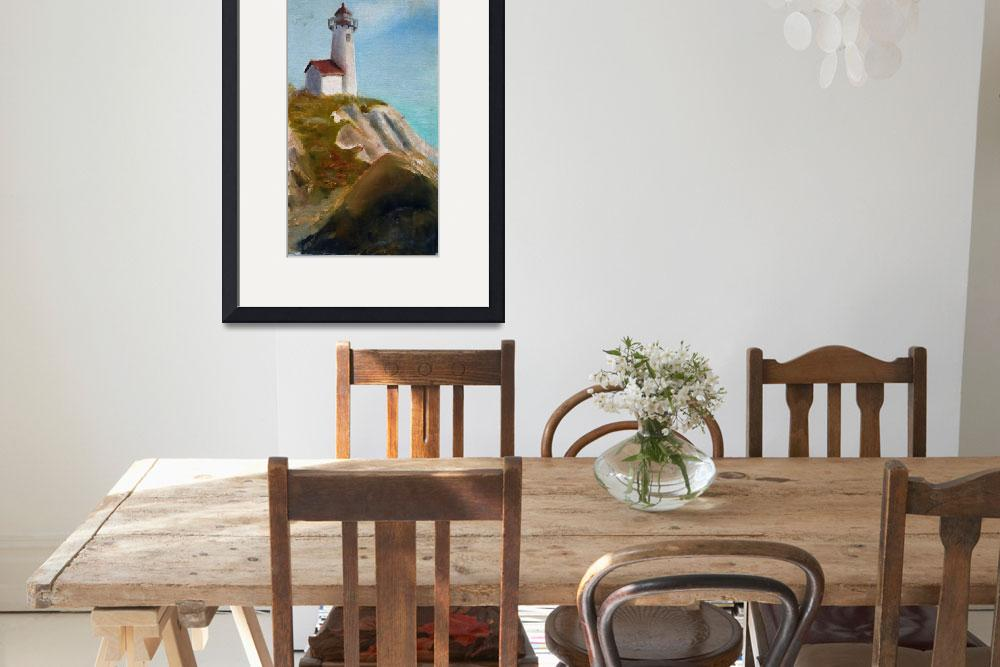 """""""Cape Cod Lighthouse""""  (2013) by AMVaughn"""