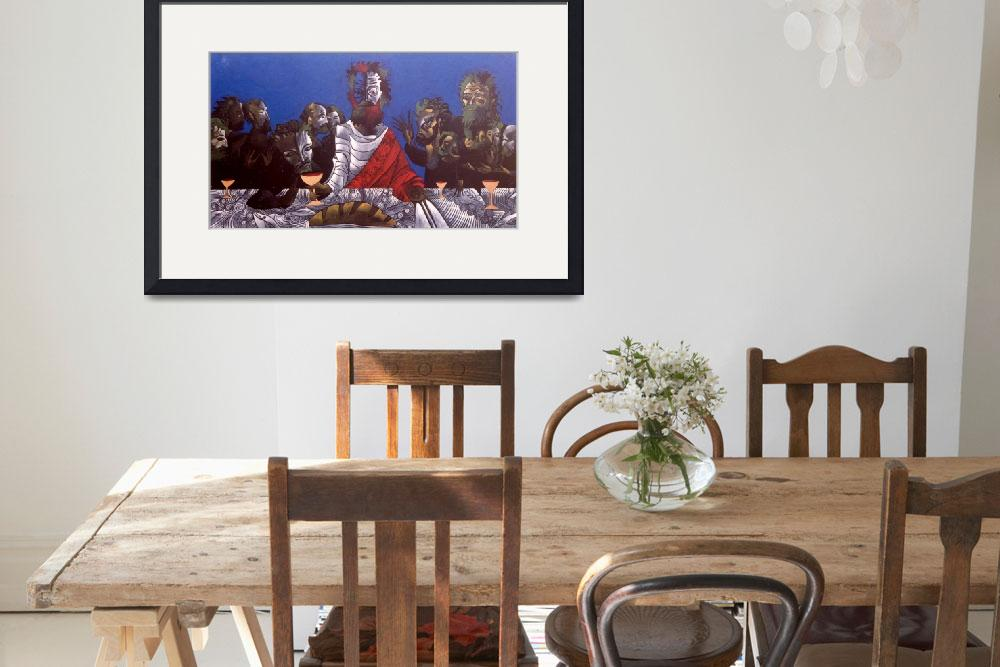 """""""the last supper""""  (1994) by Arteology"""