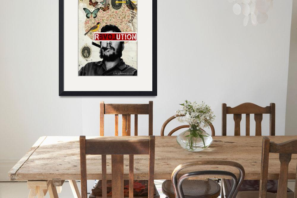 """Public Figures Collection - Che Guevara&quot  (2012) by elodesigner"