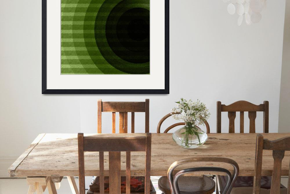 """""""green circles&quot  by VanessaGF"""