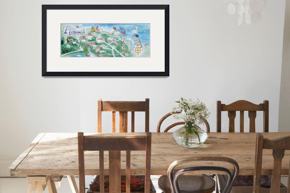 """""""Plymouth, Massachusetts by Tara McClung&quot  by TheyDrawandCook"""