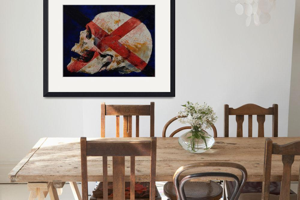 """""""Skull with Cross&quot  by creese"""