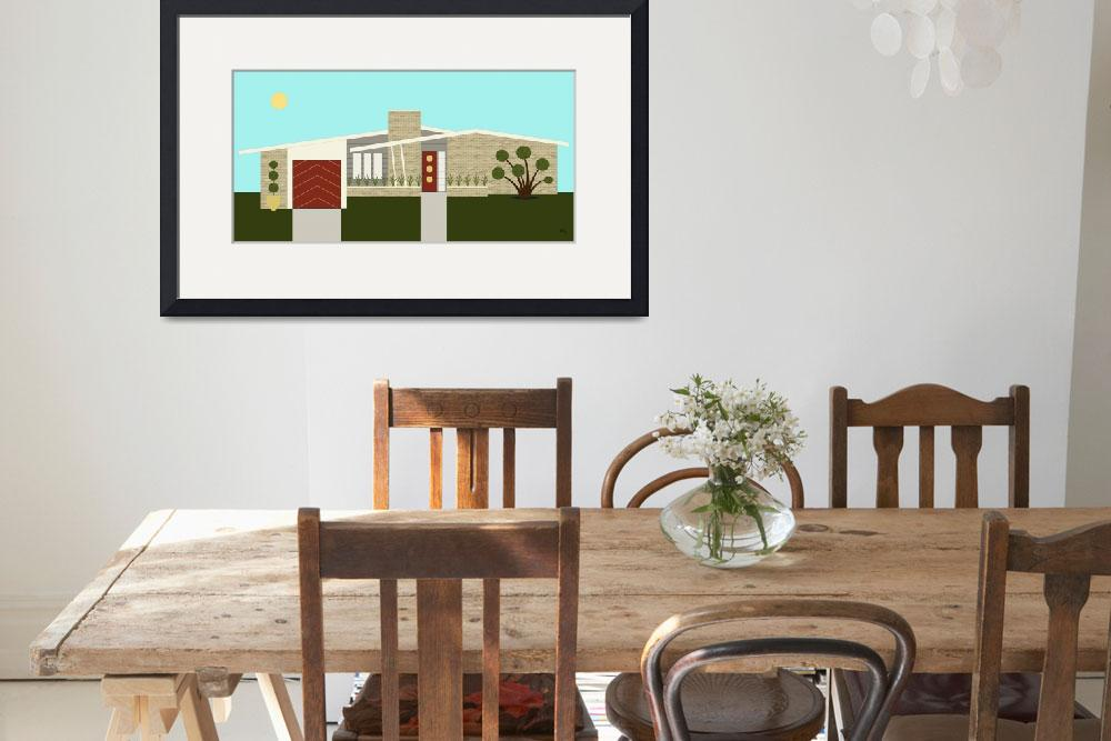 """Mid Century Modern House 3&quot  (2014) by DMibus"