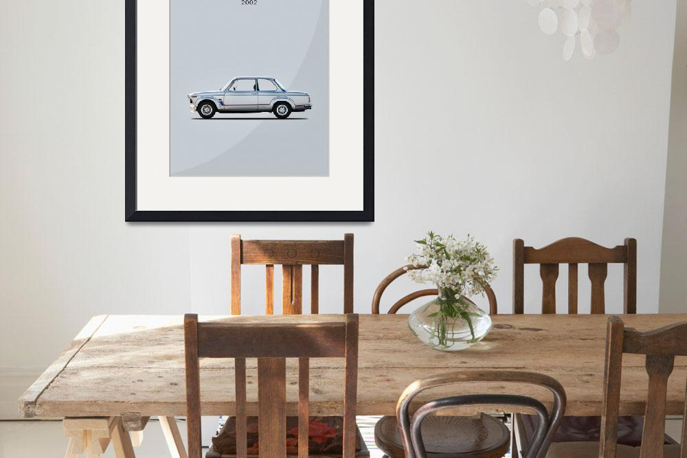 """""""The BMW 2002 Turbo&quot  (2015) by mark-rogan"""