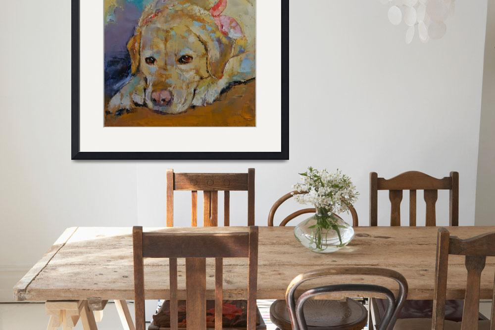 """Yellow Labrador Retriever&quot  by creese"