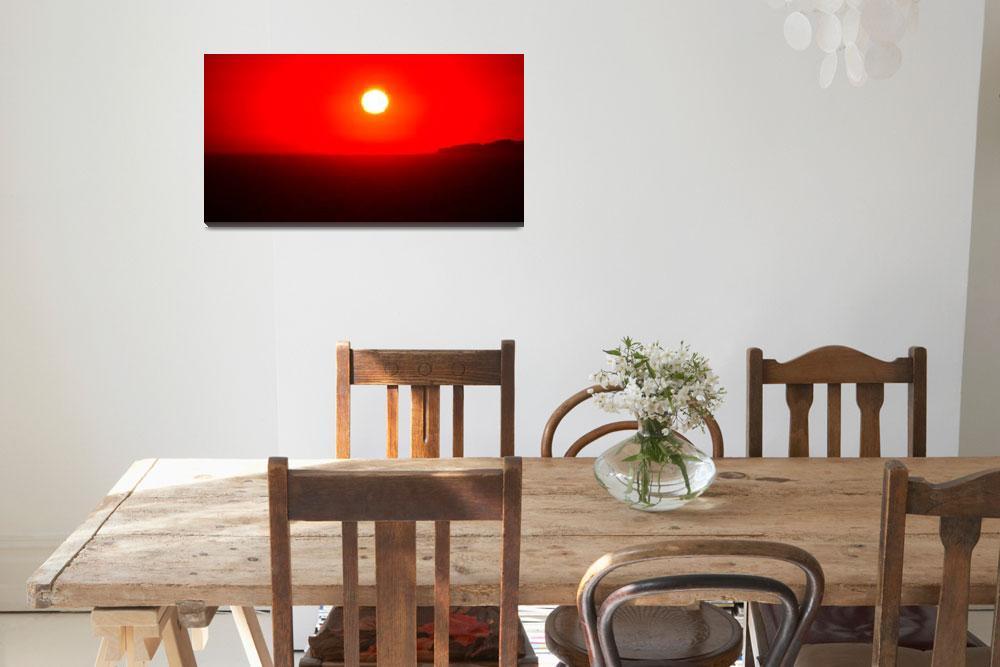 """Sunset 2-2&quot  (2012) by ChainsawNecktie"