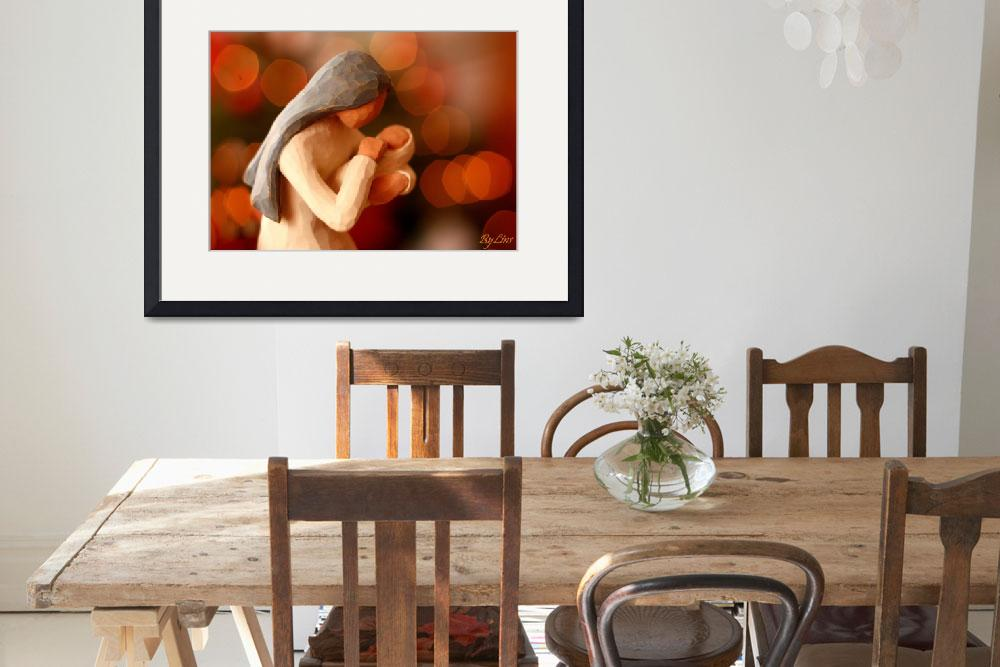 """""""mother and baby - willow tree&quot  by Spangles44"""