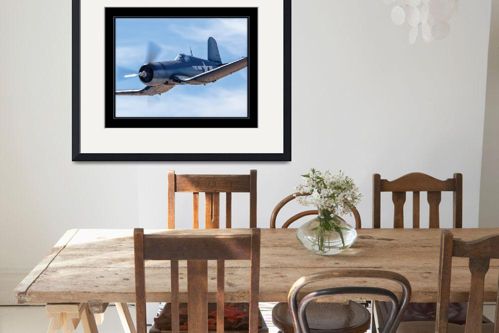 """""""F4U Corsair&quot  (2012) by markeloperphotography"""