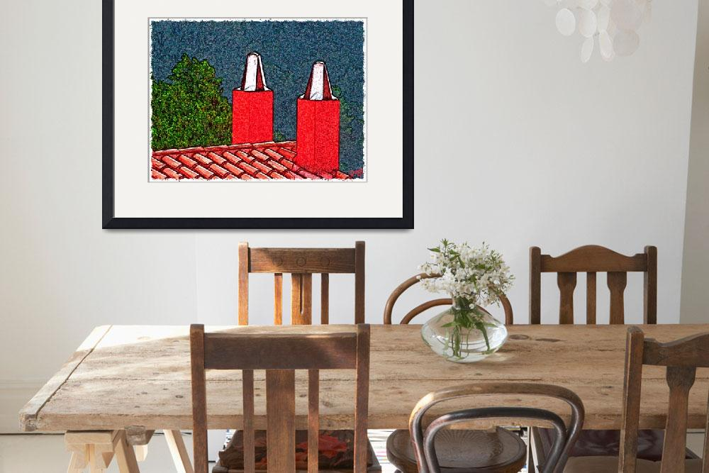 """""""Chimneys&quot  (2009) by deedemigjorn"""
