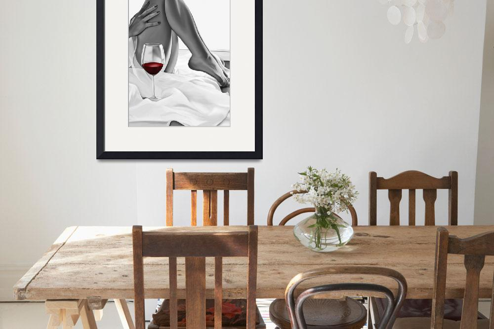 """""""wine 2""""  (2018) by smartworkdesigns"""
