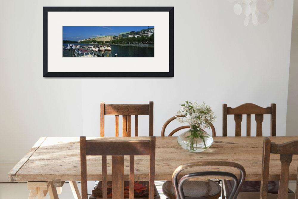 """""""Buildings on the waterfront&quot  by Panoramic_Images"""