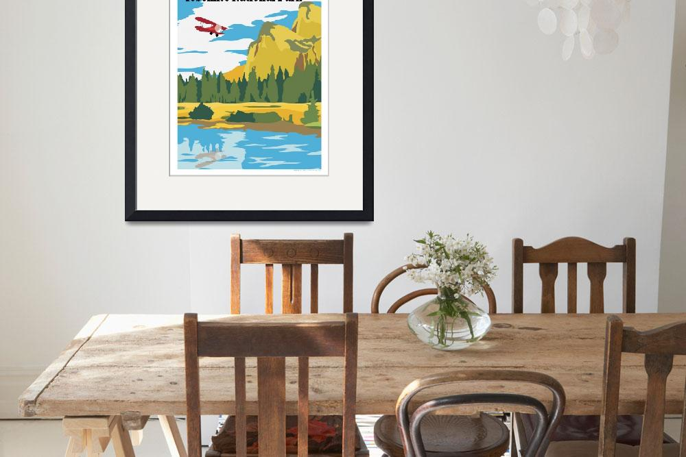 """""""Fly Yosemite by Kent AIr Art&quot  (2008) by HamAviation"""