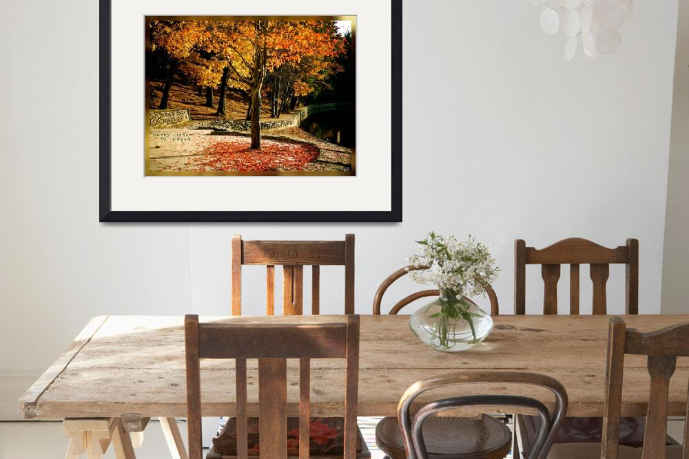 """""""Autumn Afternoon&quot  (2011) by HarryLipson"""