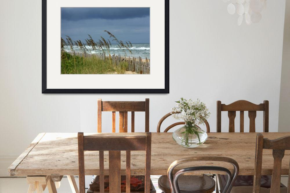 """""""Stormy Morning in Kill Devil Hills IMG_0742""""  (2012) by rayjacque"""