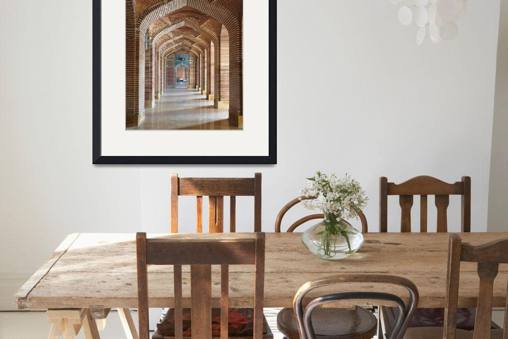 """""""Shah Jehan Mosque Arches_5477&quot  (2012) by davies"""