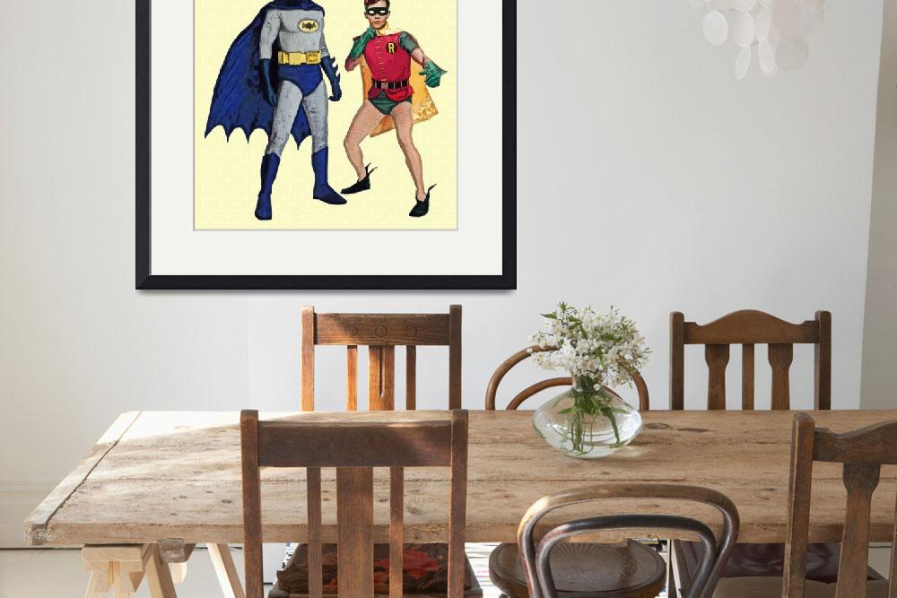 """""""Batman and Robin&quot  (2014) by Automotography"""