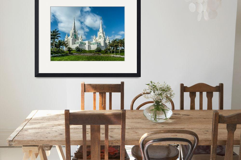 """San Diego Temple&quot  (2012) by dbwalton"