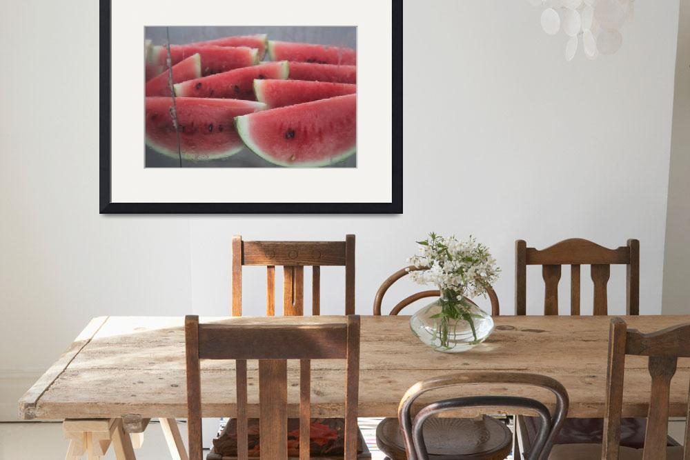 """""""watermelon wedges leon nicaragua&quot  (2011) by charker"""