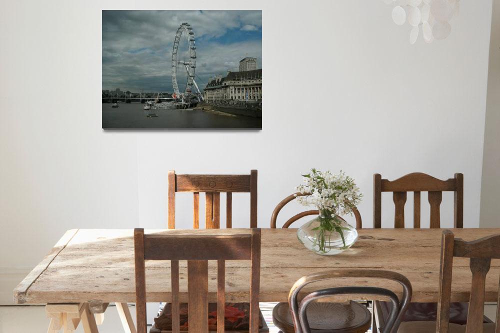 """""""London Eye""""  (2011) by Jurchx"""