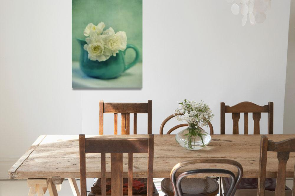 """""""carnations in a jar""""  by Piri"""