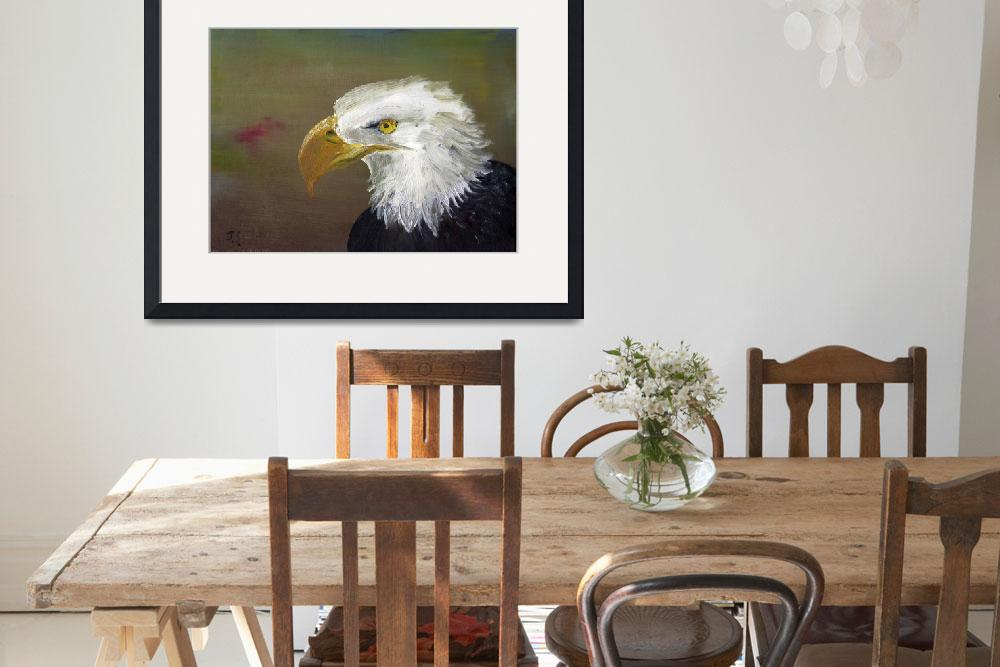 """""""Eagle&quot  (2008) by JSutherland"""