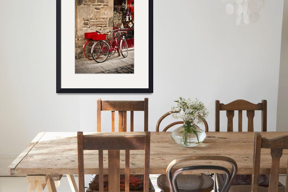 """""""Bicycles, Dinan ,France""""  (2008) by mjphoto-graphics"""