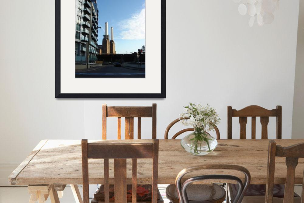 """Battersea Power Station And Condos&quot  by RandomlyLondon"
