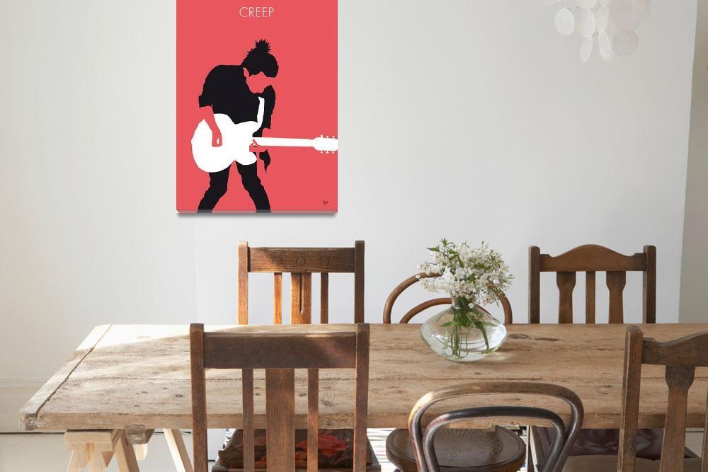 """""""No062 MY RADIOHEAD Minimal Music poster&quot  by Chungkong"""
