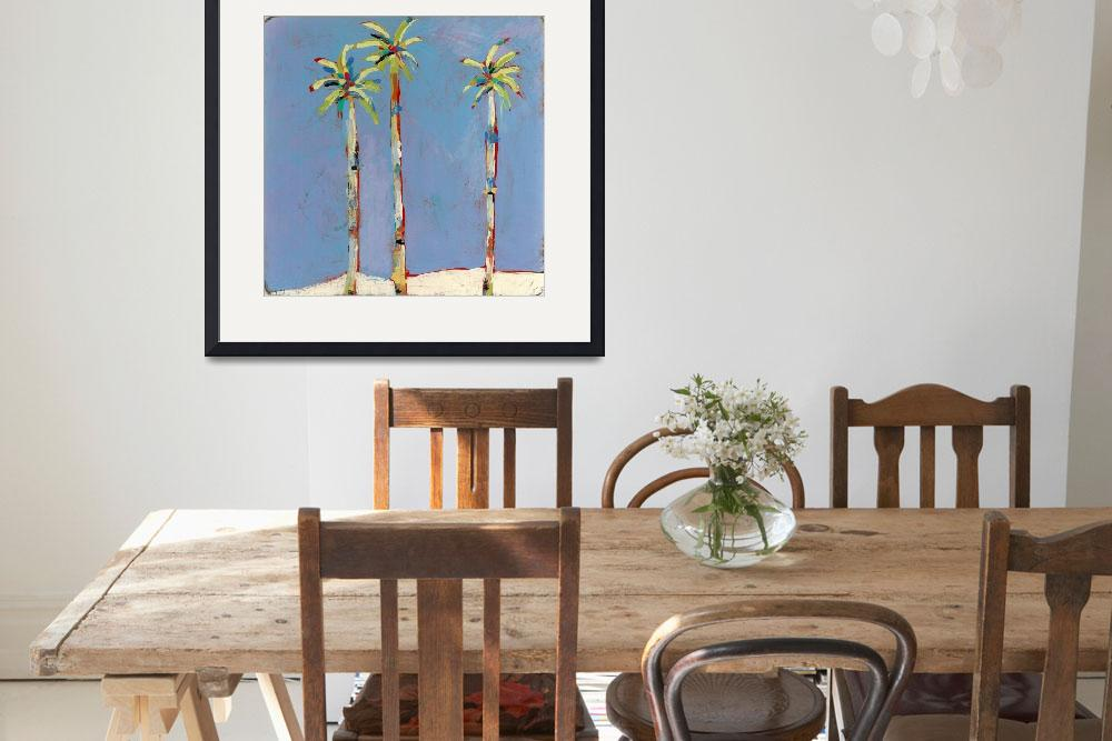 """""""Palm Trio&quot  (2011) by TuesdayMoon"""