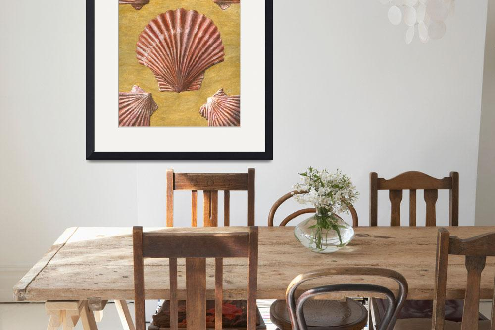 """""""Scallop Shells&quot  (2014) by dominicwhite"""