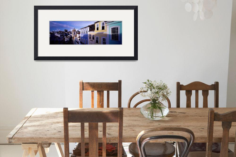 """""""Colonial Architecture Salvador Bahia Brazil&quot  by Panoramic_Images"""