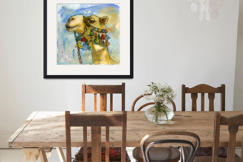 """watercolor print 
