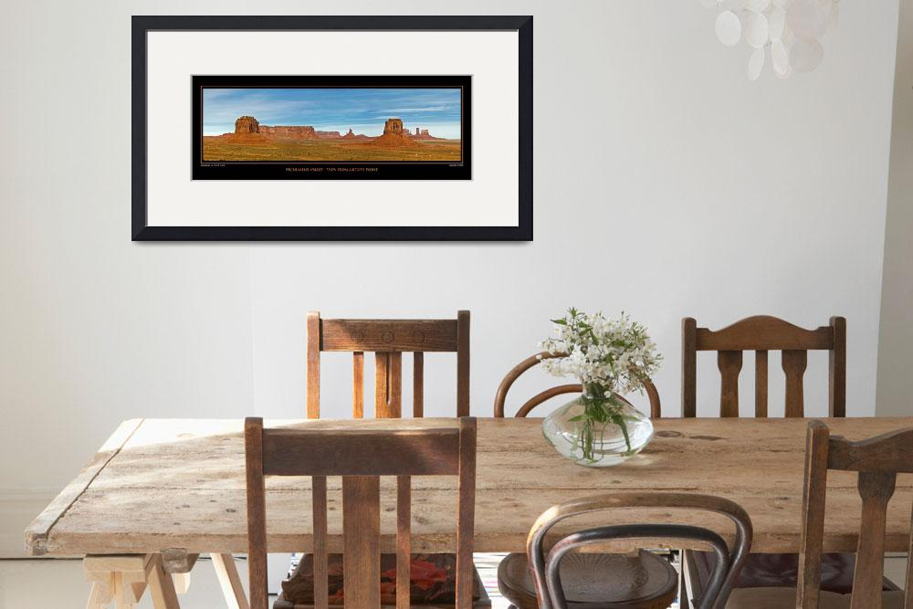 """""""POSTER - Monument Valley-Artist Point&quot  (2008) by robgerman"""