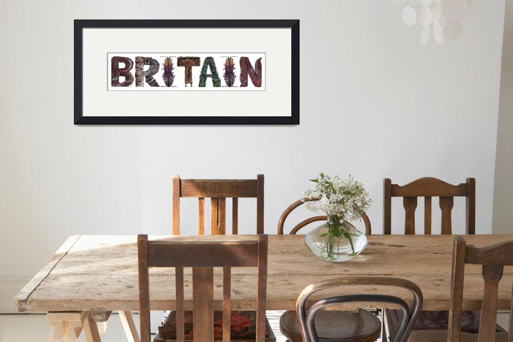 """""""Britain&quot  by animalsoup"""