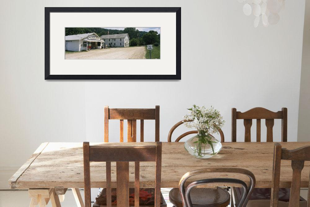 """""""Store and US Post Office on a roadside""""  by Panoramic_Images"""