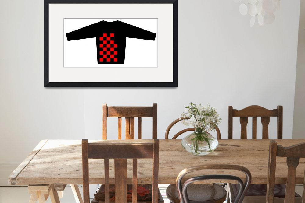 """""""Blouse Design with the Checkered Flag motif  Brand""""  by Lonvig"""