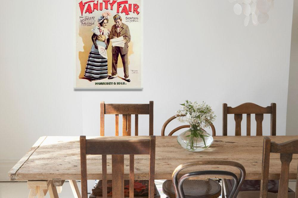 """""""Vanity Fair, printed by Calvert Litho. Co., Detroi&quot  by fineartmasters"""