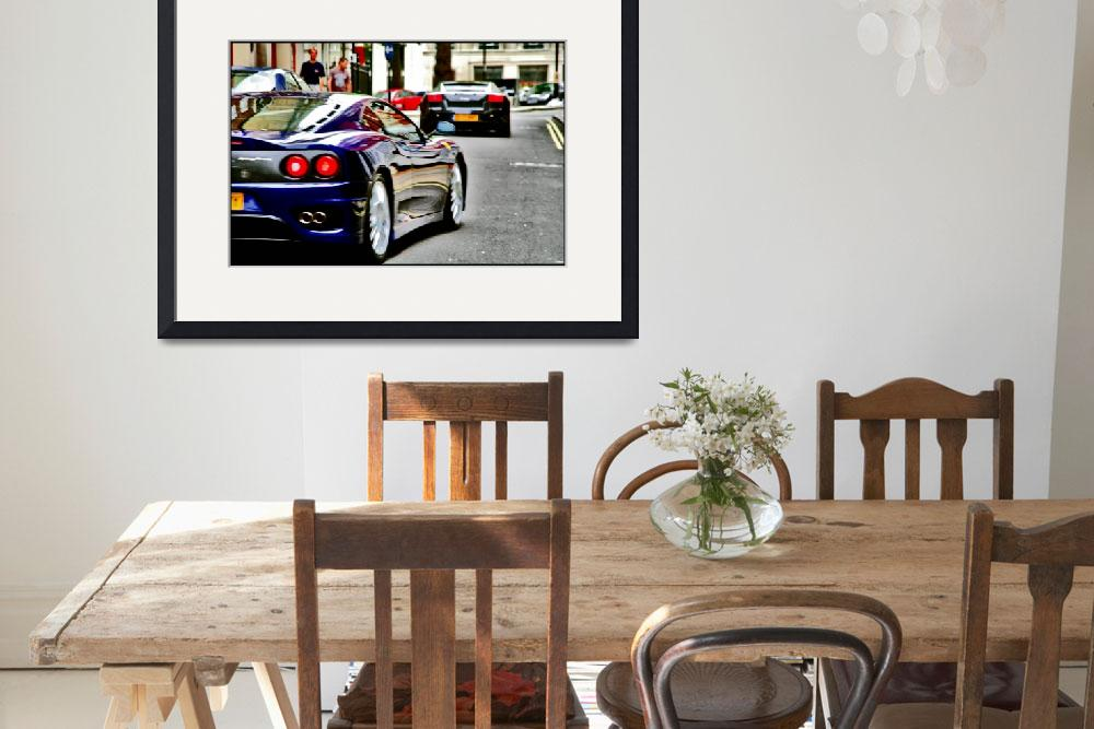 """""""fezza w lambo in front&quot  by justhype"""