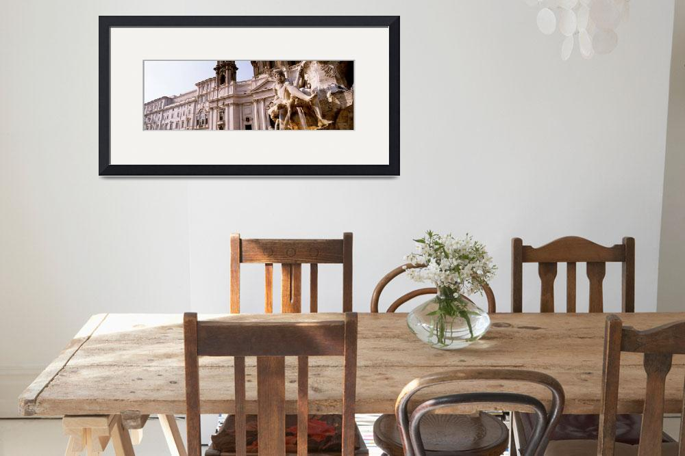 """""""Piazza Navona Rome Italy&quot  by Panoramic_Images"""